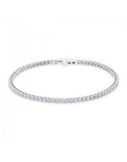 """Bracelet rivière de diamants """"Dacha"""" 1,00 carat"""