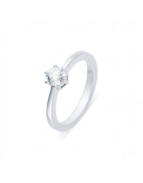 "Solitaire classique ""Viktorina"", diamant serti sur six griffes 1,00 carat"